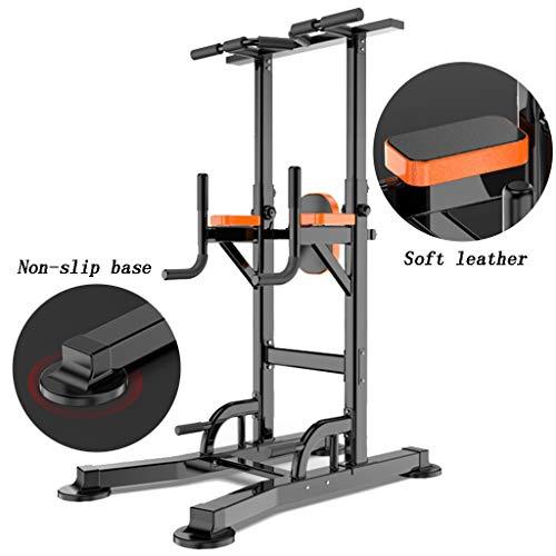 Barres de Traction Barres parallèles Simples Pull-ups entraînement Sportif équipement de Fitness Maison Multifonction intérieure Simple Barres parallèles (Color : Black, Size : 130 * 85*(165~235) cm)