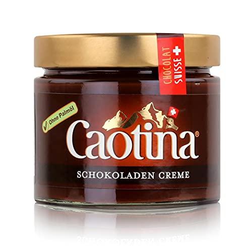 Caotina Crème Chocolat spalmabile 300 g / crema al cioccolato / cioccolato fondente / cioccolato svizzero.
