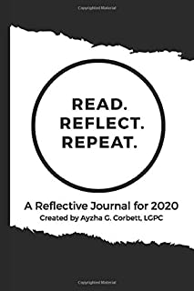 Read. Reflect. Repeat. Journal Notebook