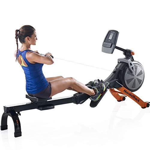 JHSHENGSHI Máquina de Remo para Fitness Escultura Bancos de Remo Cuerpo, Universal Gimnasio y Remo Peso Máximo del Usuario: 100 kg
