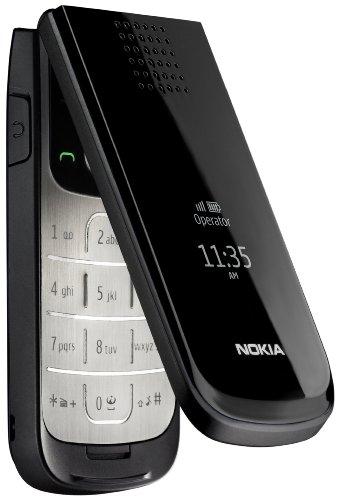 Nokia 2720 Cellulare (Bluetooth, Opera Mini, Caledario, Radio), colore: Nero