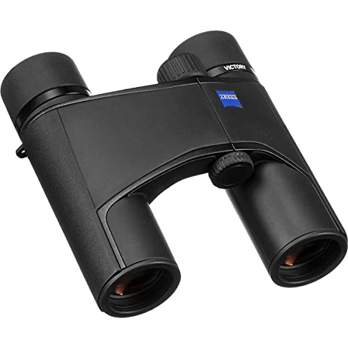 Zeiss Victory Pocket Binocular 10x25 with ZEISS T Multi-layer Coating, Black