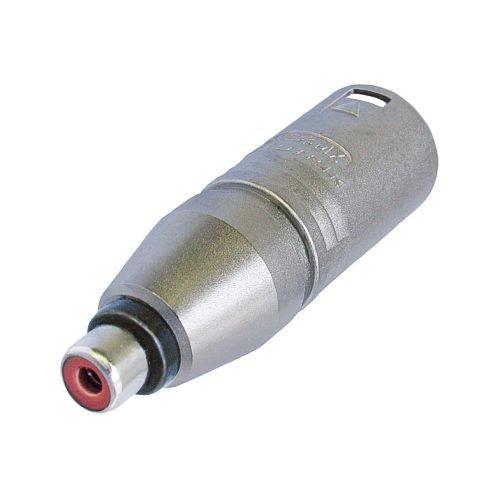 Neutrik NTR-NA2MPMF - Adaptador para cable (XLR, RCA, Macho/hembra, Plata, Metal, IEC 268-12)