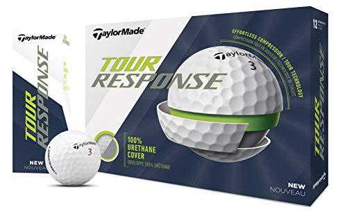 TaylorMade TM20 Tour Response dzn Golfball, weiß, Einheitsgröße