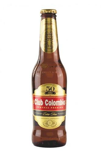 Leichteres Bier aus Kolumbien, Bavaria, 4,7% vol., Long-Neckflasche 330ml.