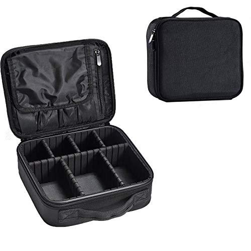 HebyTinco borsa da viaggio impermeabile, organizer per cosmetici, organizer impermeabile, con scomparti staccabile, divisorio regolabile