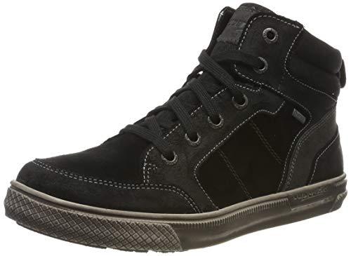 Superfit Jungen Luke Gore-Tex 500201 Hohe Sneaker, Schwarz (Schwarz/Braun 00), 40 EU