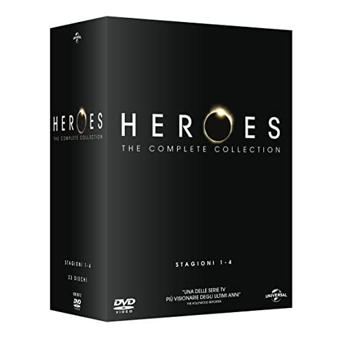 Heroes Stg.1-4 (Box 23 Dvd The Complete Collection)
