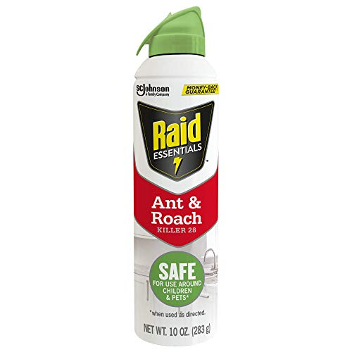 Raid Essentials Ant & Roach Killer, Child & Pet Safe, for Indoor Use, 10 Ounce