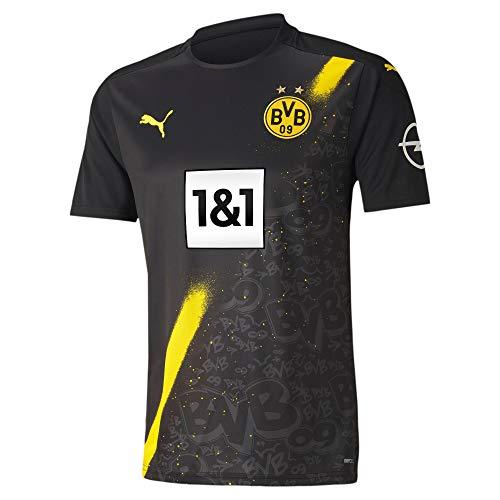PUMA Borussia Dortmund Replica Triko Away 20/21 (M, Black)