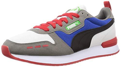 PUMA Herren R78 Sneaker, Weiß Schwarz Ultra Grau, 44 EU