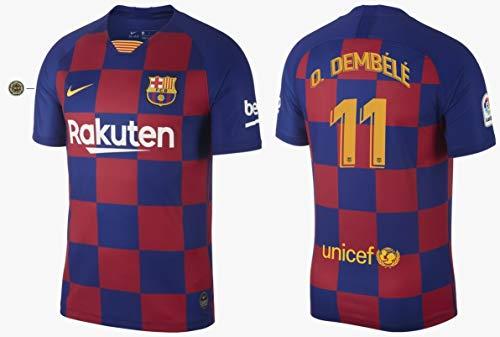 F.C. Barcelona Trikot Kinder 2019-2020 Home La Liga - Dembele 11 (164)