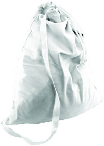 Loew Cornell Totally You Laundry Tote, White