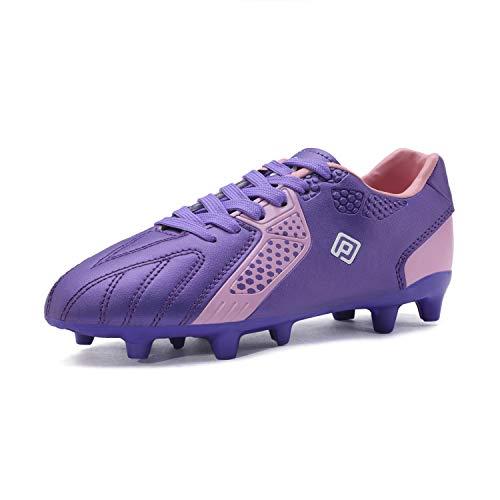 Dream Paar Jungen Mädchen HZ19006K Fußballschuhe, - Violett/Rosa - Größe: 27 EU