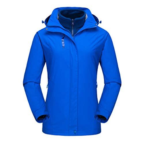 SLYZ Automne Et Hiver Femmes Nouveau Costume Deux Pièces d'alpinisme en Plein Air Taille Européenne Vêtements De Ski Cyclisme Vêtements De Sport Veste pour Femmes