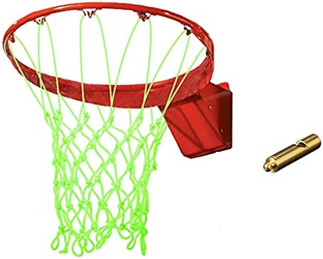 WANG Luminous Basketball Nets Rims Nightlight Glow in The Dark Heavy Duty Outdoor Kids Backyard product image