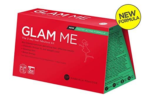 Gabriela Peacock Nutrition Glam Me | 3 Tagesplan | Leuchtende Haut und flacher Bauch | Immunsystem und Energielevel stärken | Vollgepackt mit Vitaminen und Nährstoffen