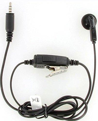 Kenwood KHS-33 Clip Microfoon met Oortelefoon (Single Pin) voor PTK-23K ProTalk Lite