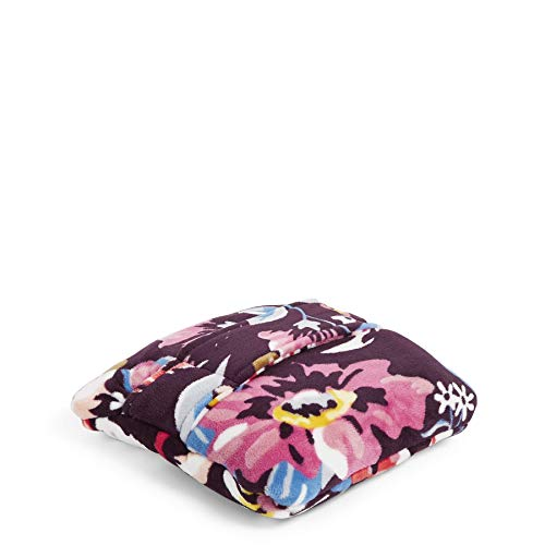Vera Bradley Damen Plush Travel Blanket, Fleece Plüsch Reisedecke, Indiana Blüten, Einheitsgröße