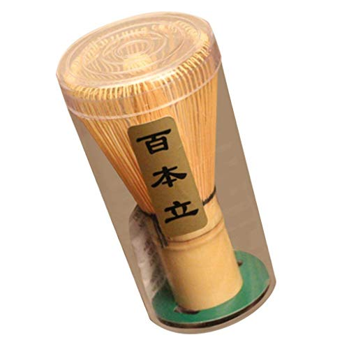1batidor de bambú para preparación de té matcha, ceremonias de té japonesas, respetuoso con el medio ambiente y práctico