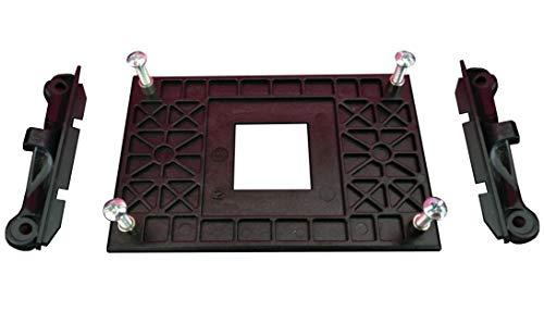 GCDN CPU-Lüfterhalterung für AM4 (AMD B350 X370 A320 X470) Sockelbefestigungshalterung, Für luftgekühlten oder teilweise wassergekühlten Hakenkühler B120 / B240, Backplate-Halter