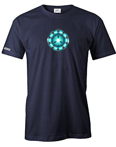 ARC Reactor - Herren - T-Shirt in Navy Gr. M