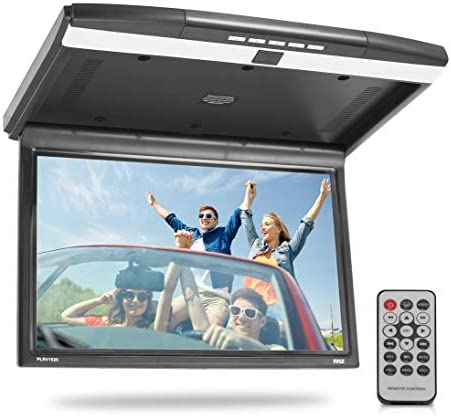 15 6 Inch Overhead Flip Down Car Monitor Hi Res 1680x800p Widescreen Car Roof Mount Monitor product image