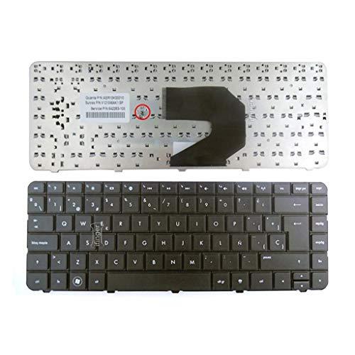 Teclado del ordenador port/átil dise/ño brit/ánico para HP PAVILION 15-E 15E 719853-031 negro