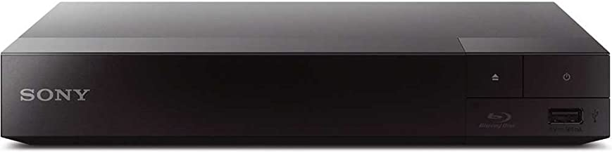 SONY Wi-Fi Upgraded Multi Region Zone Free Blu Ray DVD Player - PAL/NTSC - Wi-Fi - 1 USB, 1 HDMI, 1 COAX, 1 ETHERNET Connections - 6 Feet HDMI Cable Included