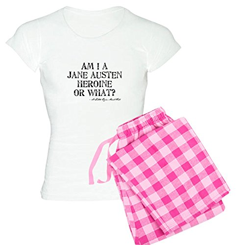 CafePress Jane Austen Quote Womens Novelty Cotton Pajama Set, Comfortable PJ Sleepwear