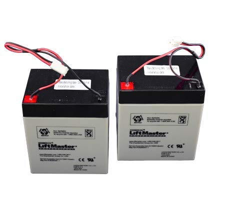 Find Bargain LiftMaster 475LM Chamberlain 41B591 Battery Replacements for BBU Garage Door Opener