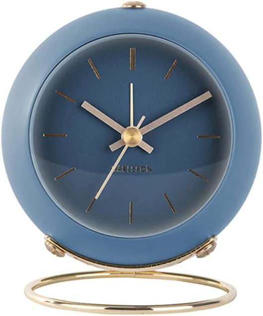 UXZDX Alarm Clock Mute Nordic Max 68% OFF Style Cl Net Red Light Dallas Mall Desk Simple