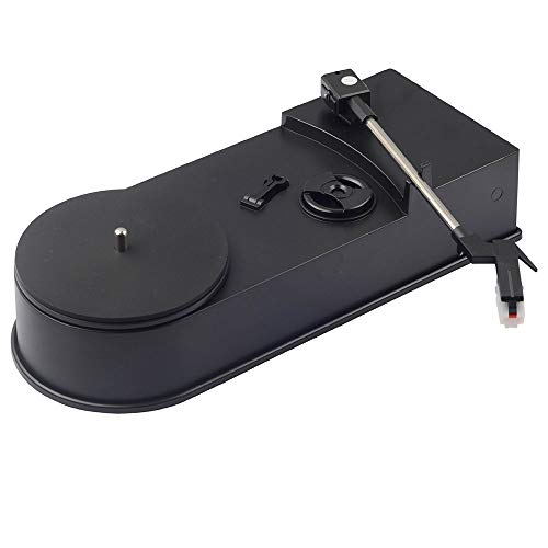 DLY LP Oude Vinyl Record Speler Elektromechanische Computer naar MP3 Converter Vintage Gramophone Ornamenten Gift 28 * 11 * 6cm Vrij