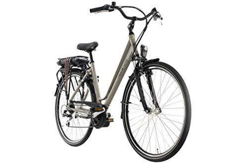 Adore Alu E-Trekking Bike 28\'\' Hollandia Optima Deluxe Beige 250W Li-Ion 36V/13 Ah/468Wh 7 Gänge