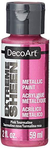 DecoArt Americana–Extreme brillo tarro de pintura, acrílico, rosa turmalina, 59 ml
