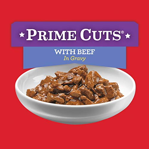 Purina ALPO Gravy Wet Dog Food, Prime Cuts With Beef - (12) 13.2 oz. Cans