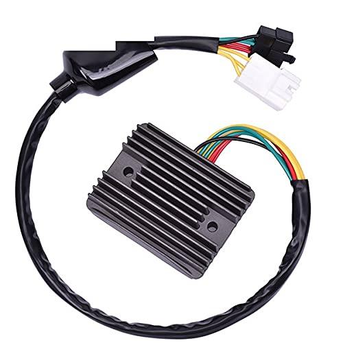 Regulador de voltaje de moto rectificador para HONDA CBR900 CBR954 FireBrade 900 CBR1100XX Blackbird 1100 CBR1100 CBR 1100 954 900 (Color : Black)