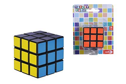 Noris- Tricky Cube Cubo mágico-Clásico Juego de Combinar Colores, A Partir de 3 años, Medidas 5, 5x5,5cm (606131786)