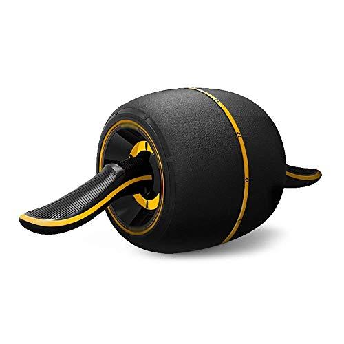%17 OFF! CUUYQ Workout Roller Wheel, Abdomen Wheel Roller Abdomen Roller for Abs Workout Abdomen Machine for Ab Workout Abdomen Workout Equipment Home Workout Equipment,Black