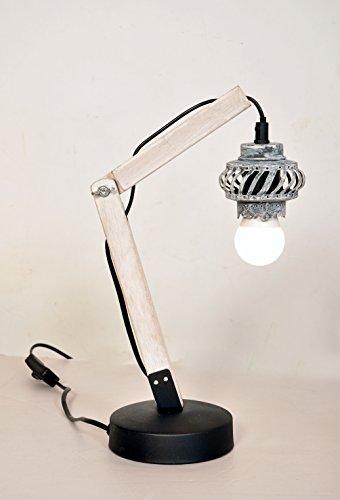 KADIMA DESIGN 1x Lampe de Table Lampe de Table Hangover Gris