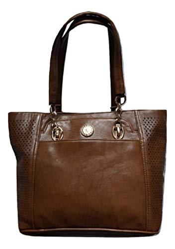 Ruwado dames handtas shopper handtas elegante tas dames grote portemonnee dames tas hengseltas. Klassiek en elegant design voor alle gelegenheden - B/H/D 33-40 x 30 x 15 cm