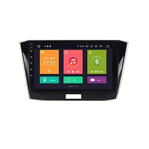 ADMLZQQ Android 10 Car Stereo Double DIN Head Unit para Passat B8 2015-2018 con Pantalla táctil de 10 Pulgadas Soporte Control del Volante DSP Carplay GPS FM Am RDS Car Radio MP5 Player,Px6,4+64