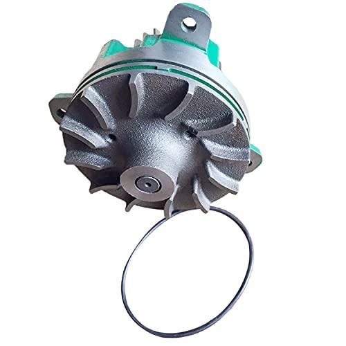 Jiayicity Bomba de Agua 20431135 20101193 20713787 20734268 8170305 Compatible con Volvo Camión FH12 FM12 NH12 Grupo Electrógeno Marino D12D-AMG D12D-EMG Excavador EC360 EC360B EC360BL Motor D10D