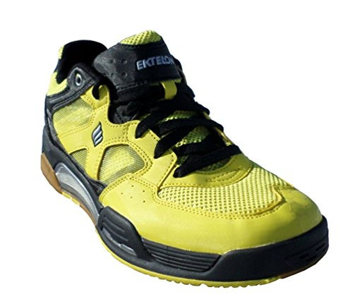 Ektelon NFS Attack Low Racquetball Shoe- Yellow/White/Black-9