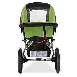 BOB Revolution Flex 2.0 Jogging Stroller - Up to 75 pounds - UPF 50+ Canopy - Adjustable Handlebar, Meadow