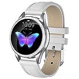 Smart Watch for Mujer,Monitoreo Fisiológico Femenino Incorporado Salud Y Fitness Smartwatch con Monitor De Ritmo Cardíaco, Reloj A Prueba De Agua Save Tracker Watch,C