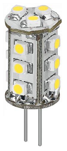 Goobay 30357 LED-Chip für G4 Lampensockel mit 15 SMD LEDs Leuchtfarbe warmweiß
