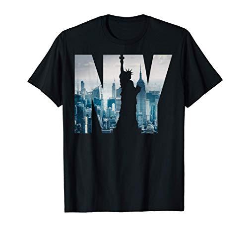 New York City Skyline T-shirt, New York shirt, New York City Camiseta
