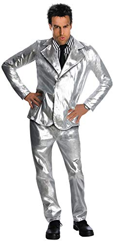 Zoolander Costume, Silver, X-Large