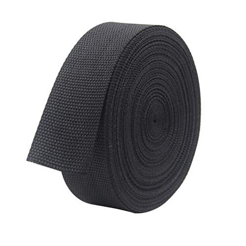 Holibanna 1 Roll Tree Strap Backpack Strap Tree Tie Strap for Garden Yard Plant Tie (Black)